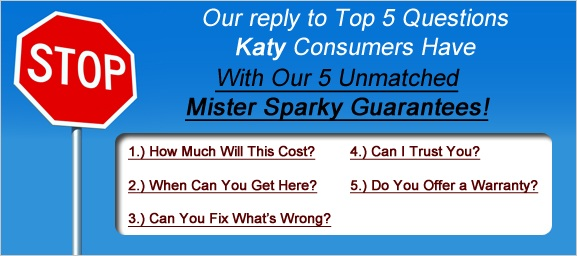 Questions for Katy Electrician